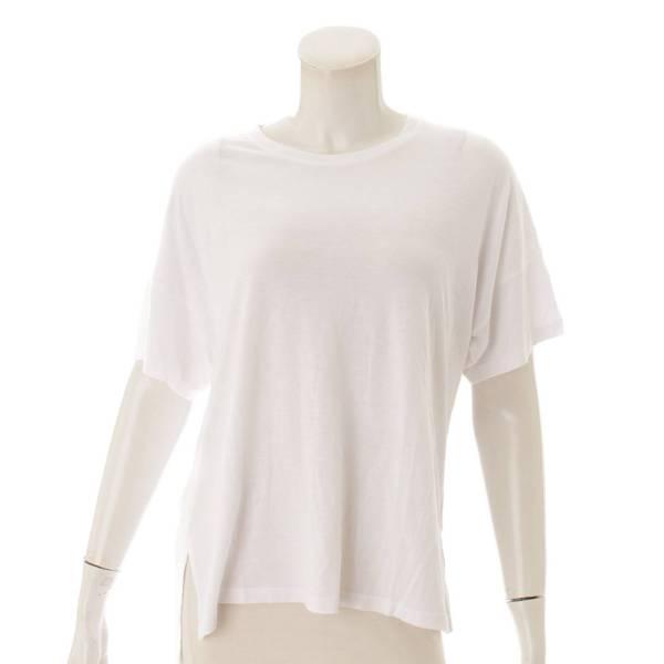 半袖 コットン Tシャツ カットソー ホワイト S