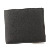 レザー 二つ折り財布 V8L23 28 2ツオリコゼニ ブラック