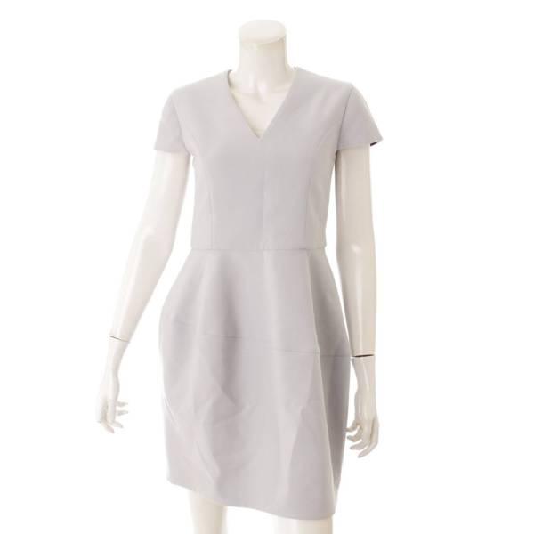 18SS バルーン ドレス ワンピース YCD-518-347 ライトブルー 38