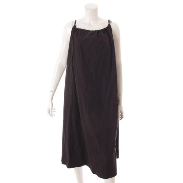 21SS バックリボン キャミドレス ワンピース YR2124-067SM ブラック F